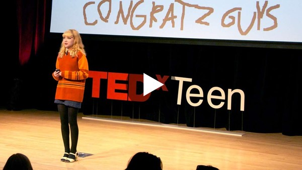 A teen just trying to figure it out - Tavi Gevinson - YouTube