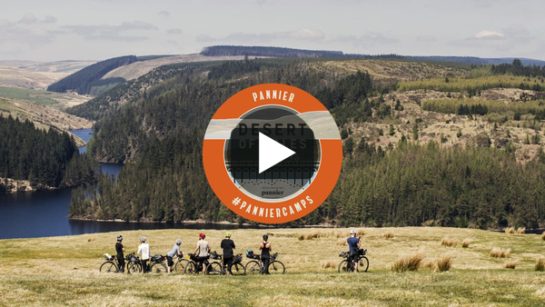 "Film-maker, Ed Schofield, documents our first Pannier ""Desert of Wales"" Camp, in May 2018. This Camp is our three-night guided bikepacking escape into the heart of the Wild Wales"