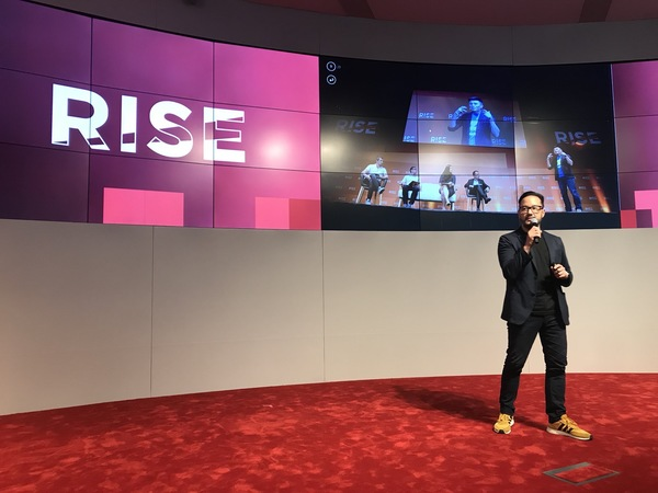 From the RISE 2018 Launch party in...April (!!) wow, seemed like last week.