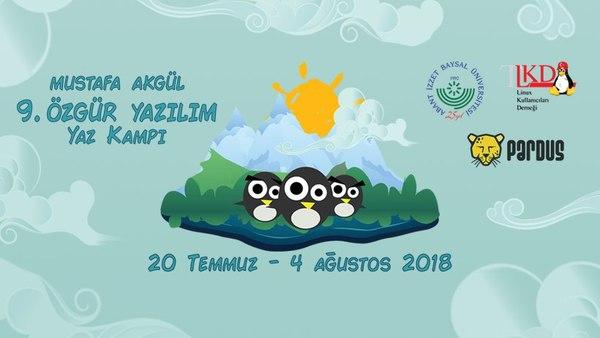 Mustafa Akgül Özgür Yazılım Yaz Kampı 2018