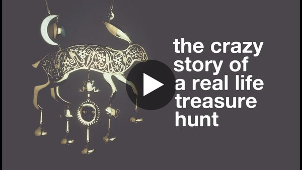 The Crazy Story Of A Real Life Treasure Hunt - YouTube