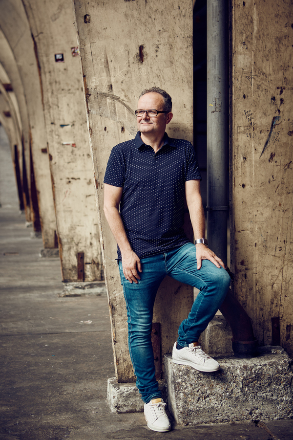 Portretteerde ik de Bossche ondernemer en auteur John Kivit