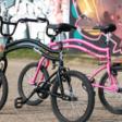Met deze flexibele fiets bestuur je beide wielen