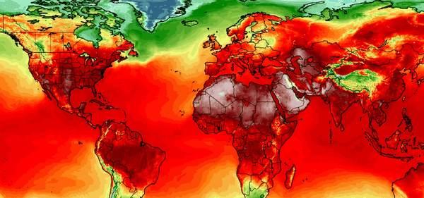In dieser Woche wurden überall auf der Welt neue Hitzerekorde aufgestellt