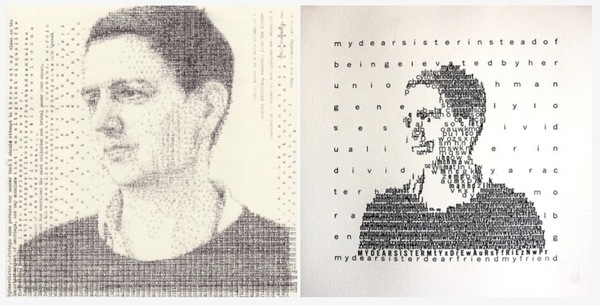Typewriter portraits