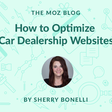 SEO for Car Dealership Websites