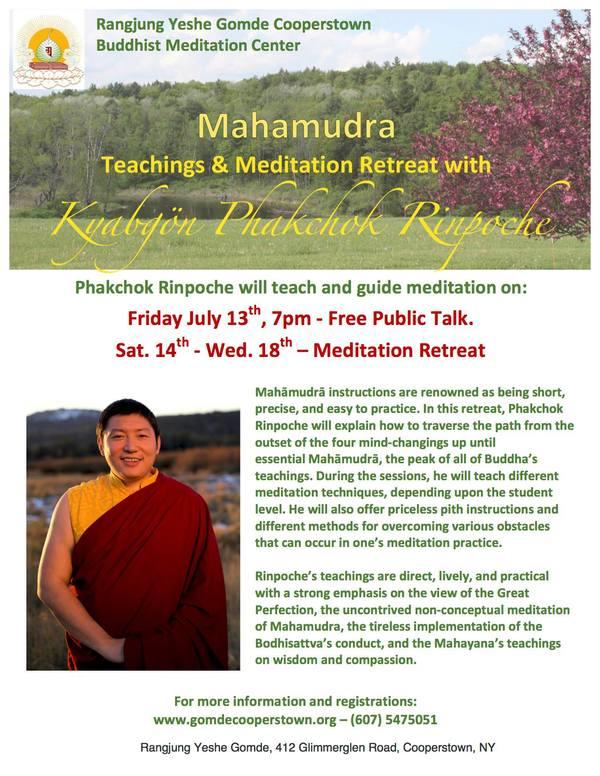 Next week Phakchok Rinpoche will begin... - Kyabgön Phakchok Rinpoche | Facebook