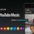 YouTube Music ✕ Soundsgood