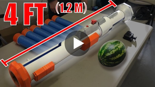 NERF Rocket Launcher!! - YouTube