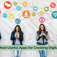 10 of the most useful apps for creating digital content