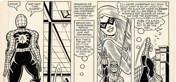 John Romita Jr. and Sr. - Spiderman Original Art