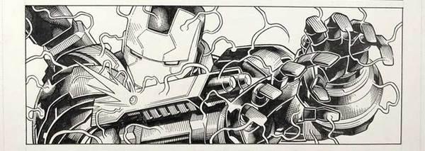 Jim Cheung - Avengers Original Art