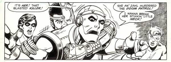 George Perez - Teen Titans Original Art