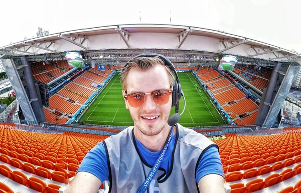 Robert van Marion maakt als 'rigger' WK-voetbal van dichtbij mee