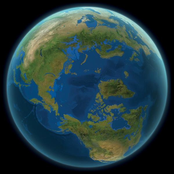So würde die Welt aussehen, wenn alle Eisberge geschmolzen wären