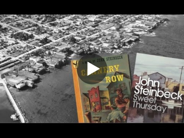 Literary Sites of the Monterey Peninsula: Steinbeck, Stevenson & Jeffers - YouTube