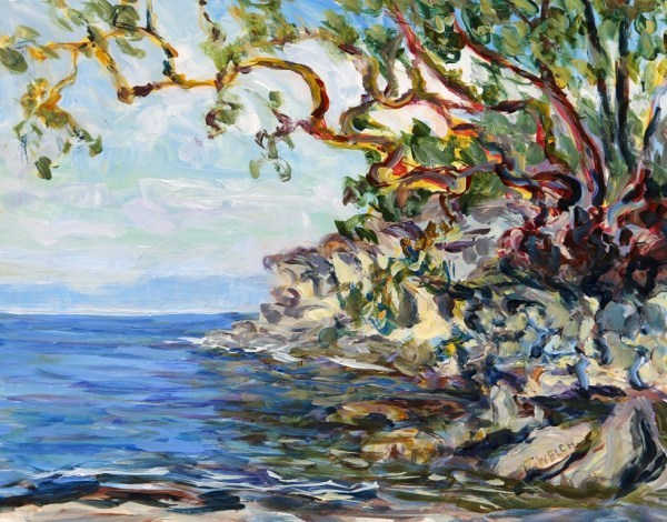 Sea and Shore study by Terrill Welch  | Artwork Archive