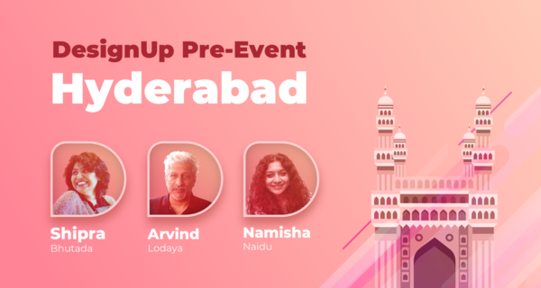 DesignUp Hyd Pre-event, Hotel Avasa, Thu July 19th