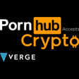 Pornhub partners with Verge cryptocurrency to offer anonymous payments