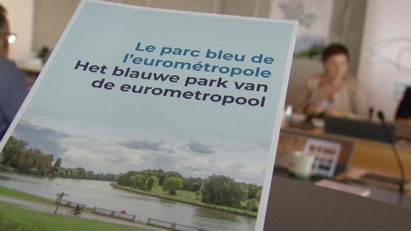 Un livre et un site pour découvrir le Parc bleu de l'Eurométropole - Een boek en een website laten je het Blauwe park van de Eurometropool ontdekken