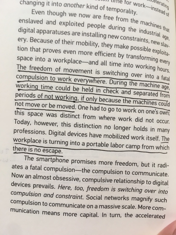 From Byung-Chul Han's In the Swarm: Digital Prospects (Credit: Peter Limberg)