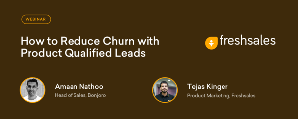 How to Reduce Churn with Product Qualified Leads (Webinar Recording)