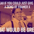 People are going crazy over Framer X.