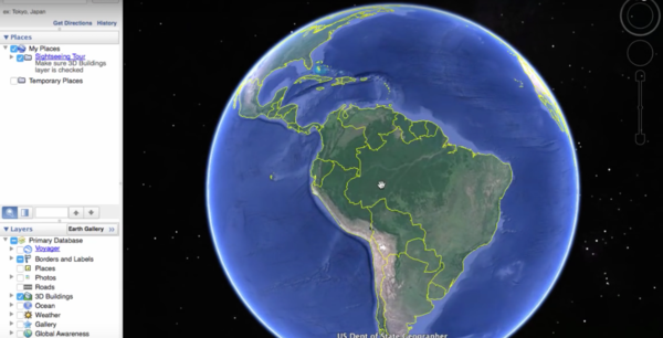 Google will help the UN with climate change research since the U.S. government won't