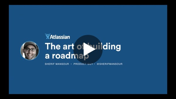 The Art of Building a Roadmap