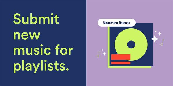 Spotify laat je pitchen voor zijn playlists