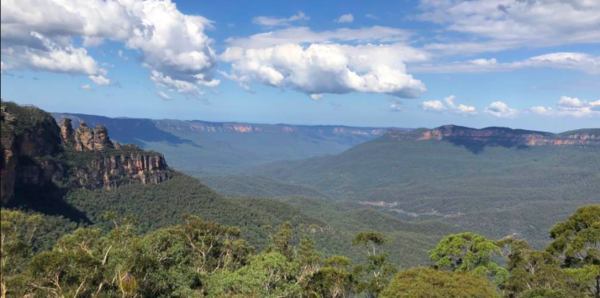 Trip to Blue Mountains in New South Wales, Australia