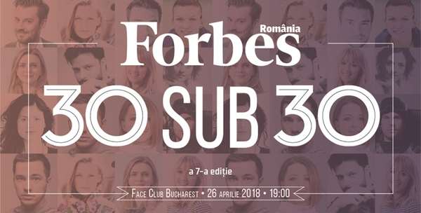 Forbes 30 under 30, 2018 edition