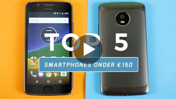 Top 5: de beste smartphones onder €150 (Dutch) - YouTube