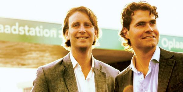 Florian (links) samen met zijn compagnon Mark.