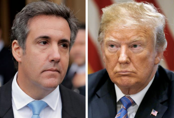 Michael Cohen, de voormalig advocaat van president Trump (Foto: Reuters)