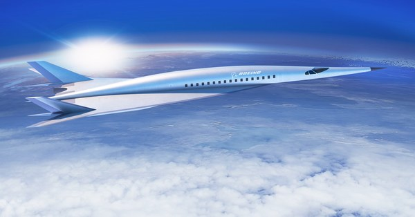 Boeing's Proposed Hypersonic, Mach 5 Plane is Really, Really Fast