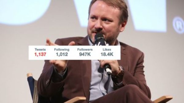 Director Rian Johnson Deleted 20,000 Tweets | The Mary Sue