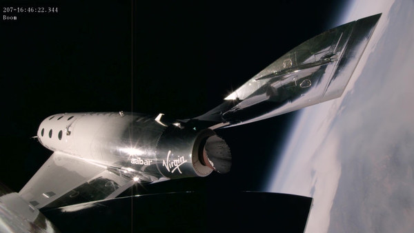 Virgin Galactic's third supersonic test flight hits Mach 2.4 and 170,000 feet – TechCrunch