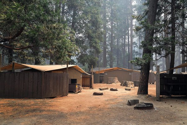 'It's a ghost town': Photos show an unrecognizable Yosemite - SFGate