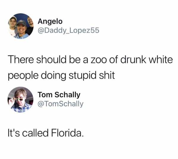 Florida Man is the hero we deserve, but not the one we need.
