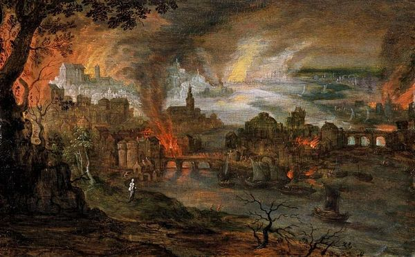 The Sodom and Gommorah paintings will continue until morale impoves.