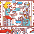 How Humans and AI Are Working Together in 1,500 Companies