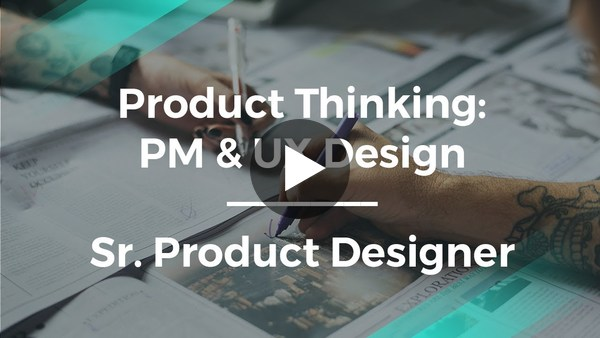 Why Product Management & UX Design Are Key by Sr. Product Designer - YouTube