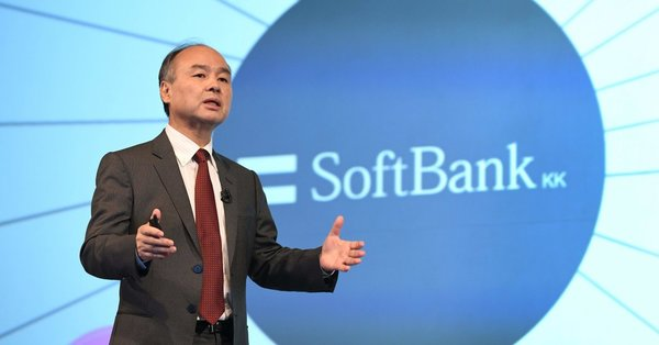 The Market Values SoftBank At Roughly *Negative* $100 Billion