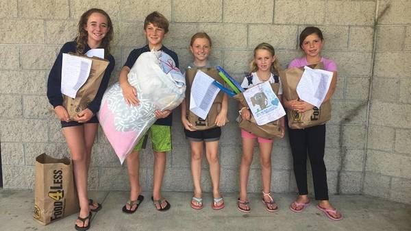 SLO County CA kids donate to pets of domestic abuse victims | The Tribune