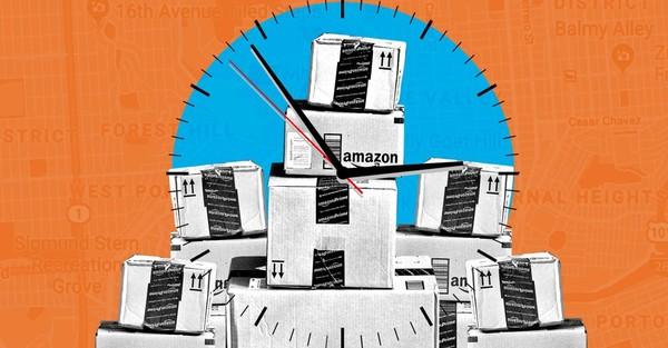 Diese Reporterin hat Pakete für Amazon Flex ausgefahren