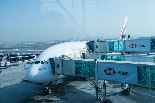 Emirates Flight 201 to New York on the A380