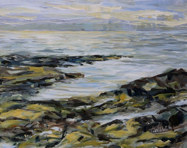 Into the Sun Reef Bay study by Terrill Welch  | Artwork Archive