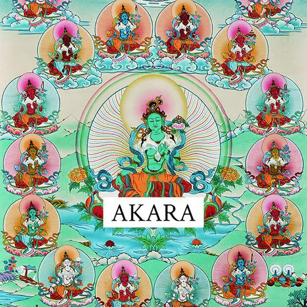 Twenty-One Taras Thangka - AKARA Collection