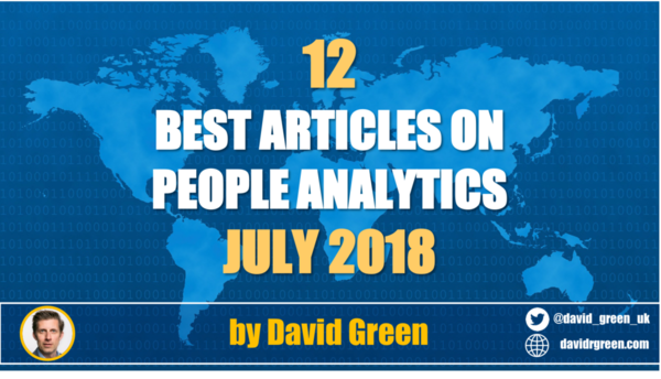 The best HR & People Analytics articles of July 2018 — myHRfuture